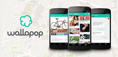 wallapop app smartphone tablet aplicacion compra venta