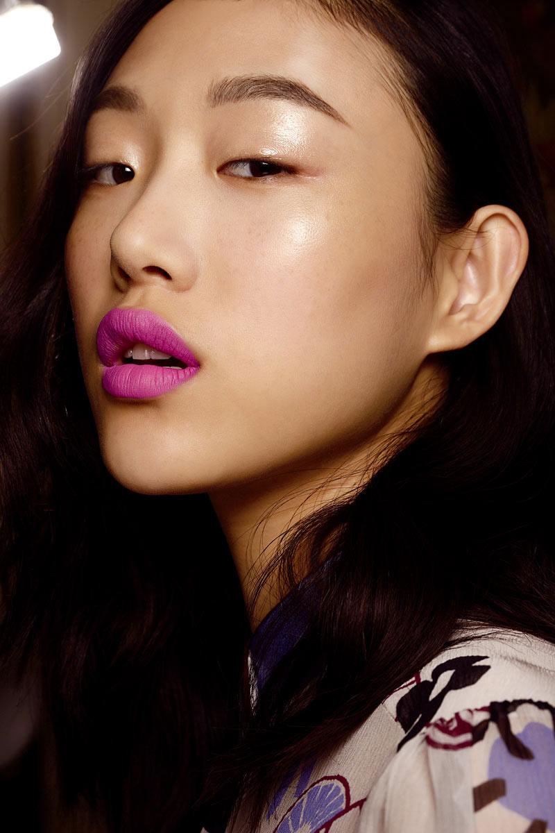 labios fluor tendencias maquillaje 2015