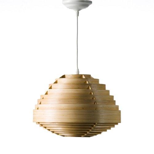 Lámpara colgante de diseño en bambú