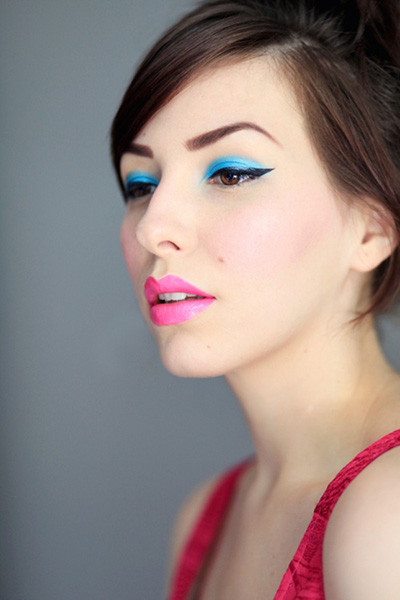 maquillaje fluor colores tendencias belleza 2015