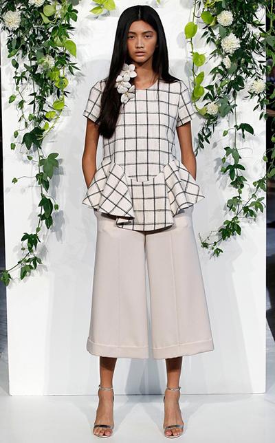 pantalon culotte pernera ancha tendencias moda primavera verano 2015