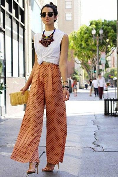 Tendencias primavera/verano: pantalones de pernera ancha