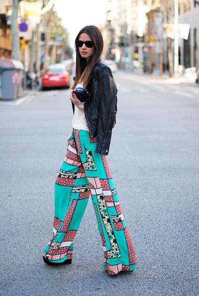 pantalon palazzo tendencia moda primavera verano 2015