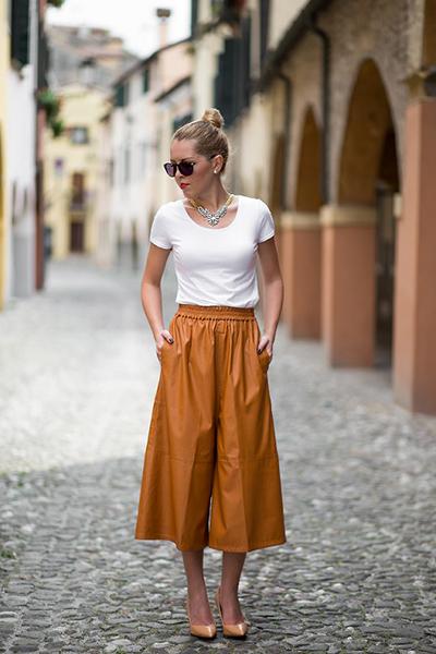 pantalones culotte tendencias moda primavera verano 2015