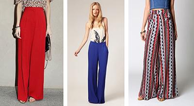pantalones palazzo tendencias moda primavera verano 2015