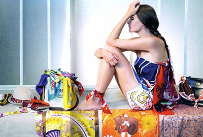 hermes carre firma lujo accesorios moda pañuelo seda