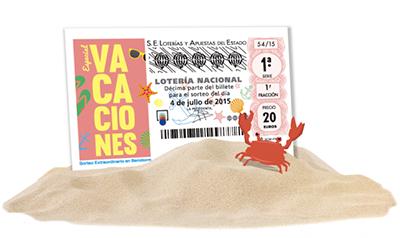 loteria nacional sorteo extraordinario vacaciones julio