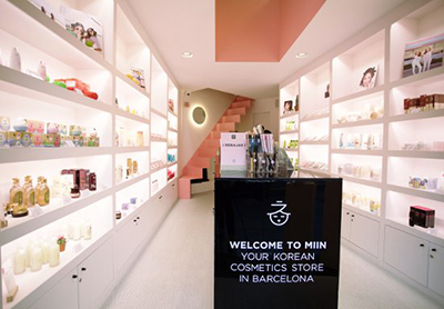 miin cosmetics barcelona tienda belleza cosmetica coreana