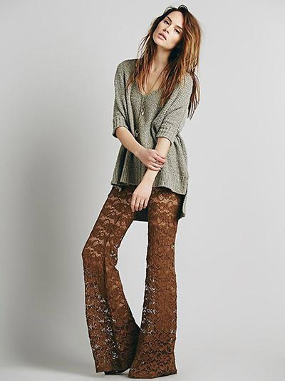 pantalones transparentes tejido tendencia verano