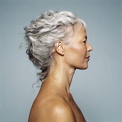 Mature woman, profile