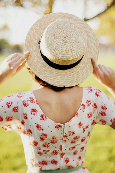 sombrero canotier moda tenencias verano 2015