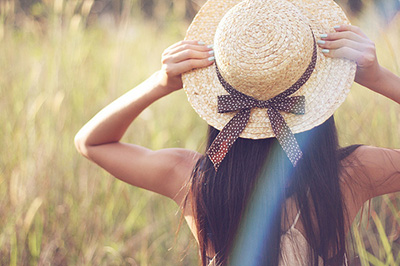 sombrero paja verano tendencia moda 2015