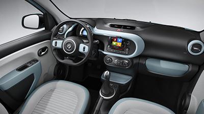 interior coche nuevo modelo twingo renault