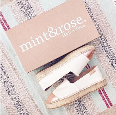 mint&rose calzado español alpargatas