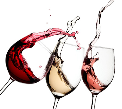 vino alimentacion saludable tinto blanco rosado