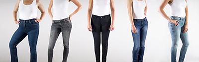 La clave para que los jeans te sienten bien: ¡conoce tu silueta!