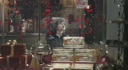 Suchard invita a los adultos a volver a ver la Navidad como lo hacen los niños