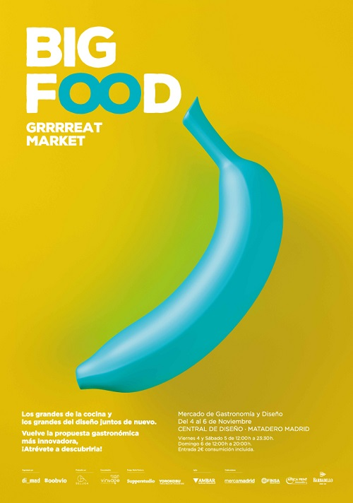 cartel evento Food Design 2016