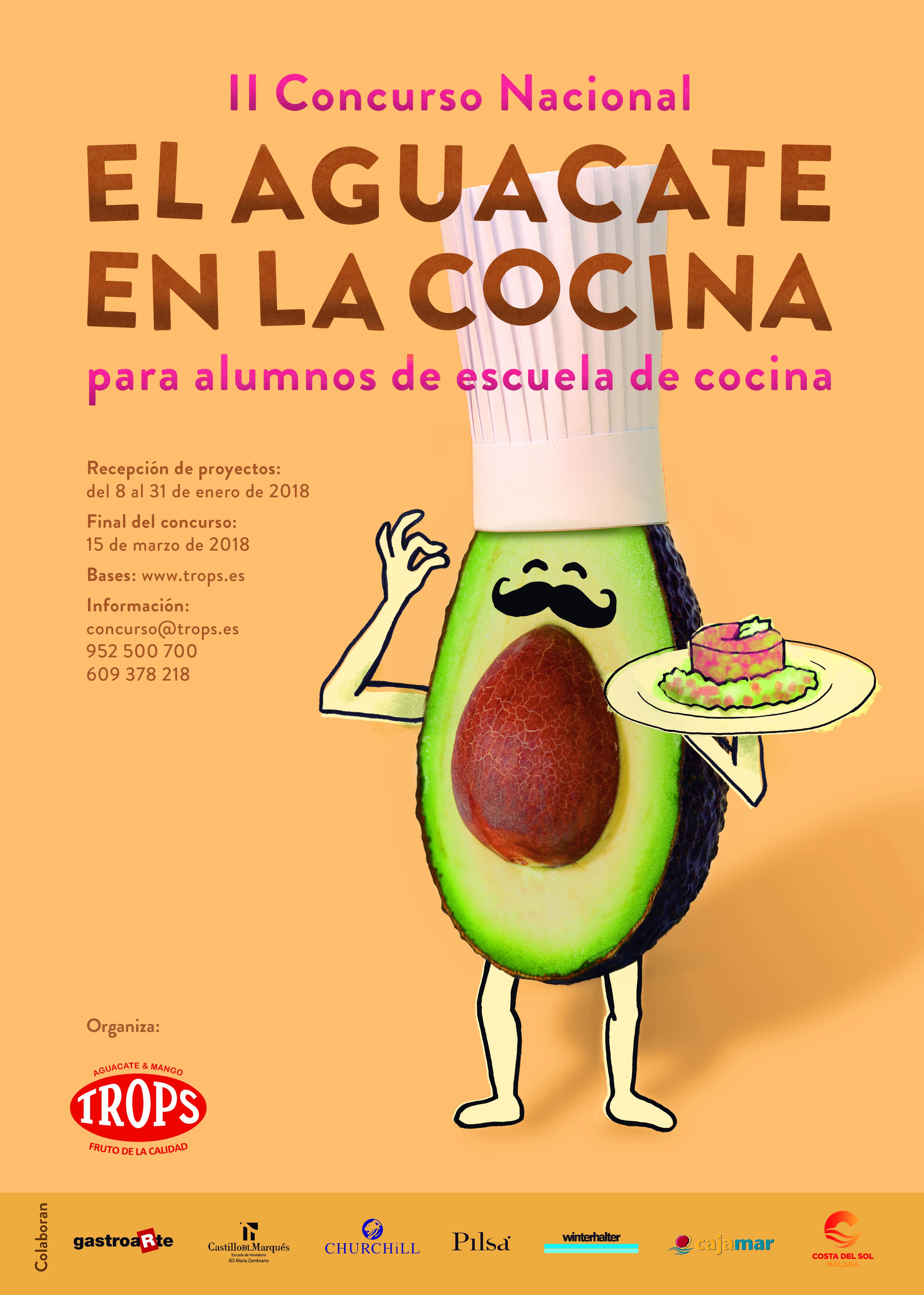 """TROPS presenta el II Concurso Nacional """"El aguacate en la cocina"""""""