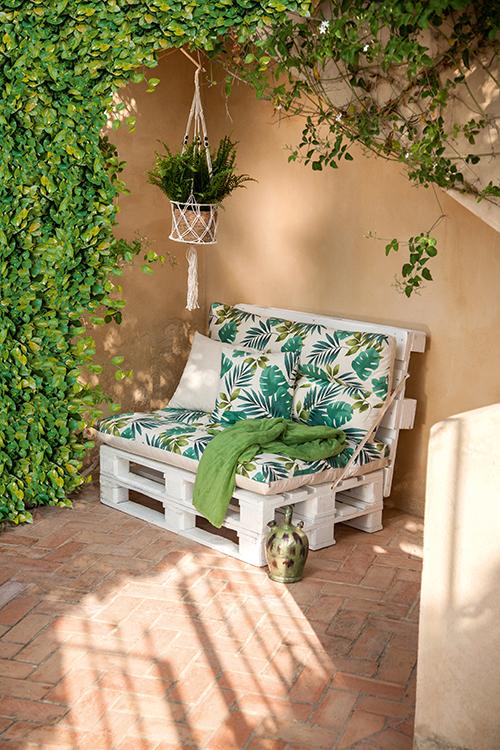 Sofa para exterior for Sofa exterior leroy