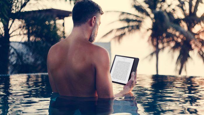 Libro electrónico en verano